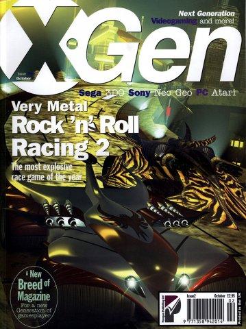 X-Gen Issue 02 October 1995