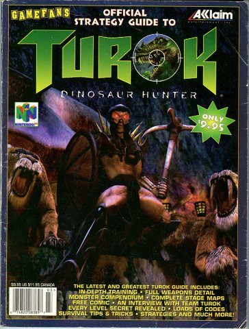 Turok Dinosaur Hunter Strategy Guide