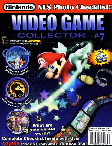 Video Game Collector Issue 07 Winter 2007