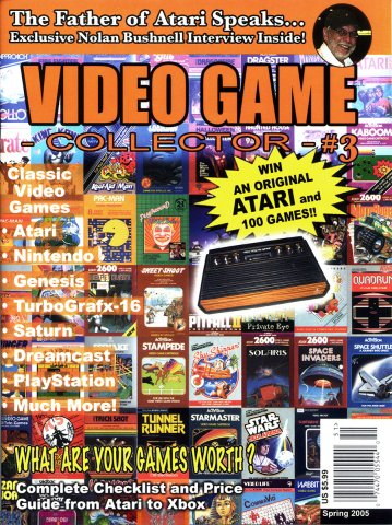 Video Game Collector Issue 03 Spring 2005