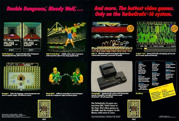 TurboGrafx-16 multi-ad pg3-4
