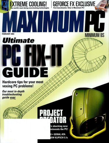 Maximum PC Issue 054 February 2003