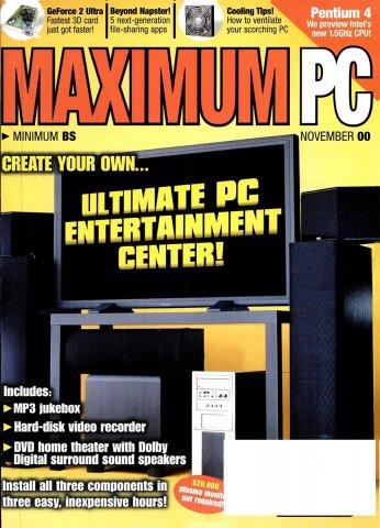 Maximum PC Issue 027 November 2000