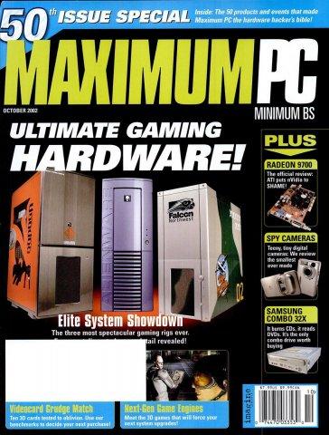 Maximum PC Issue 050 October 2002