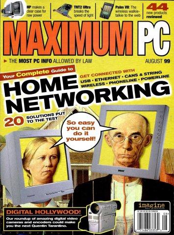 Maximum PC Issue 012 August 1999