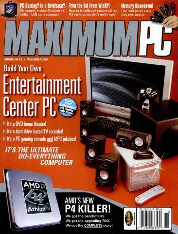 Maximum PC Issue 063 November 2003