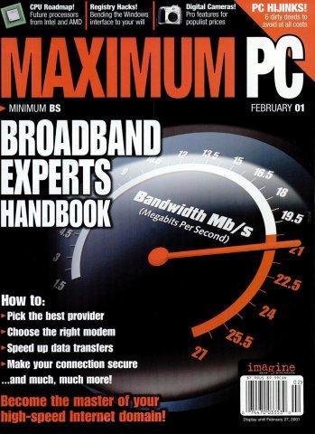 Maximum PC Issue 030 February 2001