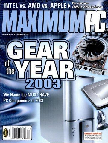 Maximum PC Issue 064 December 2003