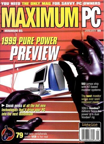 Maximum PC Issue 005 January 1999