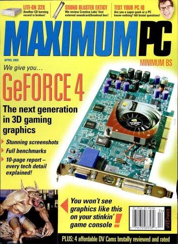 Maximum PC Issue 044 April 2002