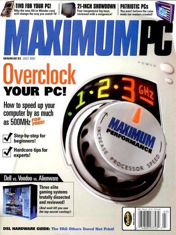 Maximum PC Issue 059 July 2003