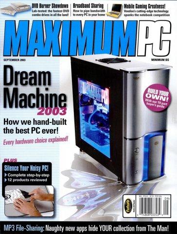 Maximum PC Issue 061 September 2003