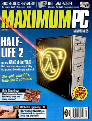 Maximum PC Issue 060 August 2003