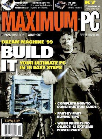 Maximum PC Issue 013 September 1999