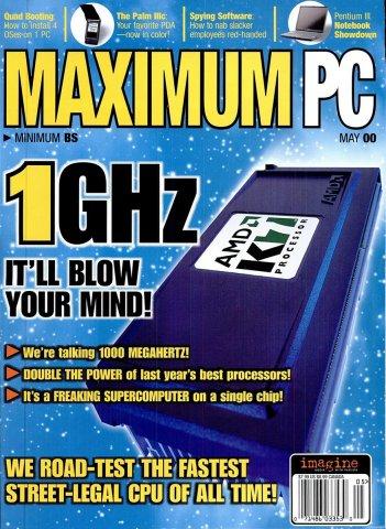 Maximum PC Issue 021 May 2000