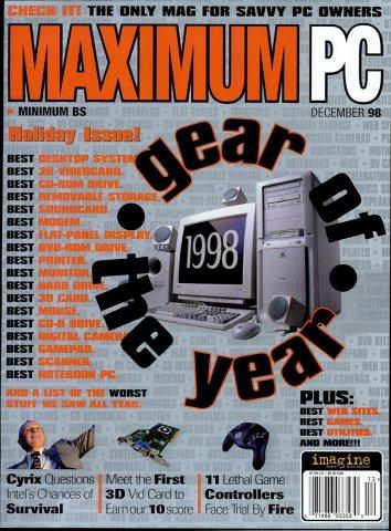 Maximum PC Issue 004 December 1998