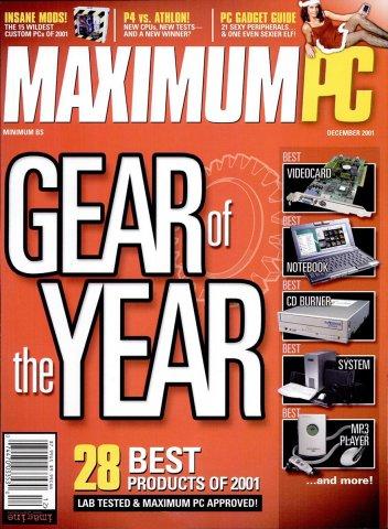 Maximum PC Issue 040 December 2001