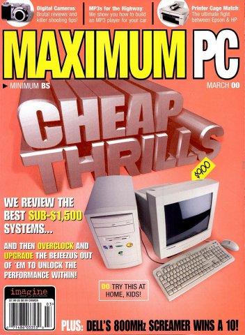 Maximum PC Issue 019 March 2000