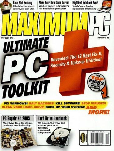 Maximum PC Issue 062 October 2003