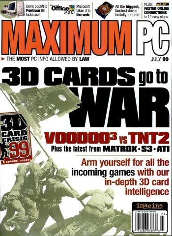 Maximum PC Issue 011 July 1999