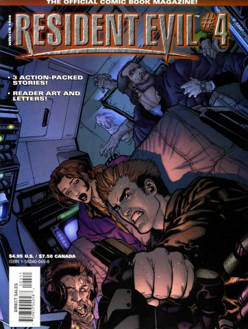 Resident Evil: The Official Comic Book Magazine 04 (December 1998)