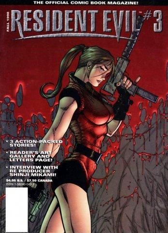 Resident Evil: The Official Comic Book Magazine 03 (September 1998)