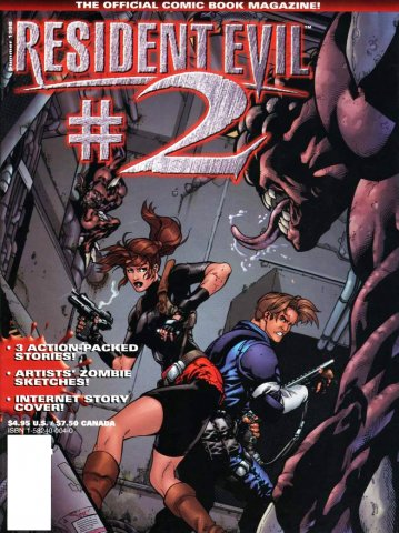 Resident Evil: The Official Comic Book Magazine 02 (June 1998)
