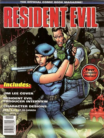 Resident Evil: The Official Comic Book Magazine 01 (March 1998)