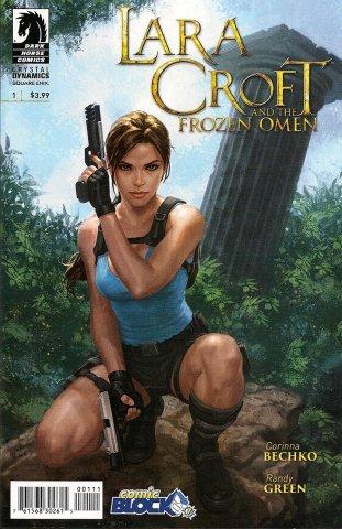 Lara Croft And The Frozen Omen 001 variant (October 2015)