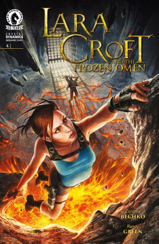Lara Croft And The Frozen Omen 005 (February 2016)