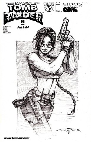 Tomb Raider 09 (sketch cover) (December 2000)