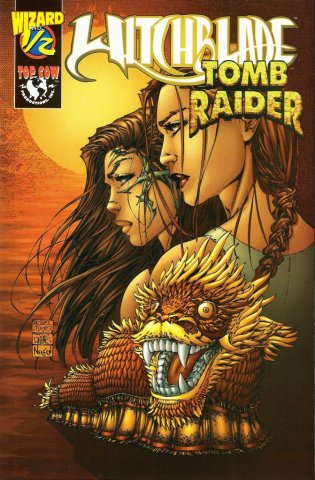 Witchblade Tomb Raider Wizard 1/2 (December 1998)