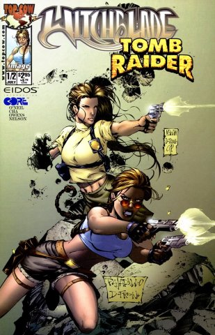 Witchblade Tomb Raider #1/2 (July 2000)