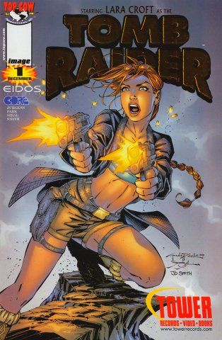 Tomb Raider 01 (Tower Records cover) (December 1999)