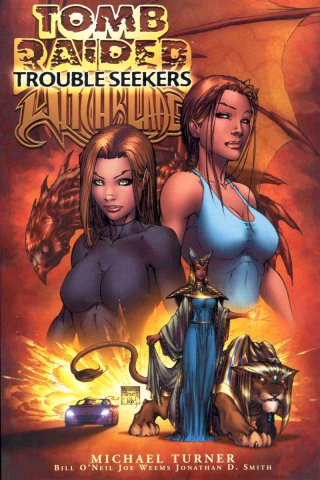 Tomb Raider Witchblade: Trouble Seekers TPB