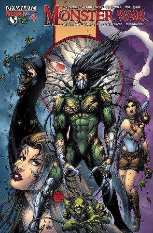 Monster War #4 The Darkness vs Mr. Hyde (September 2005)