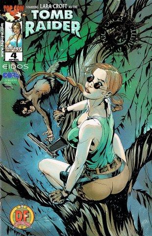 Tomb Raider 04 (Dynamic Forces foil cover) (April 2000)