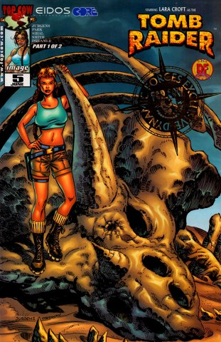 Tomb Raider 05 (Dynamic Forces cover) (June 2000)