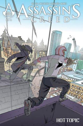Assassin's Creed 001 (Hot Topic variant) (November 2015)