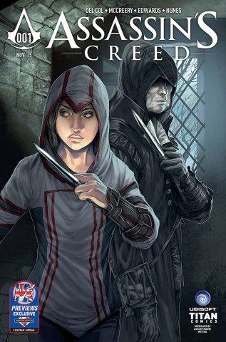 Assassin's Creed 001 (Diamond UK variant) (November 2015)
