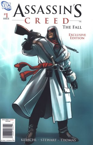 Assassin's Creed: The Fall 001 (Target variant) (January 2011)