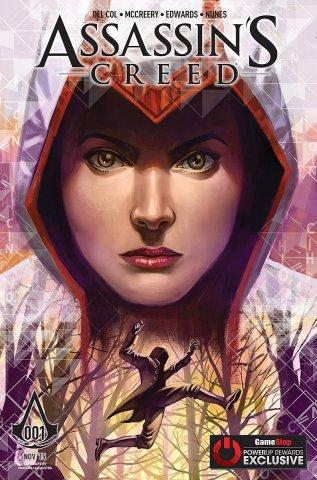 Assassin's Creed 001 (GameStop variant) (November 2015)