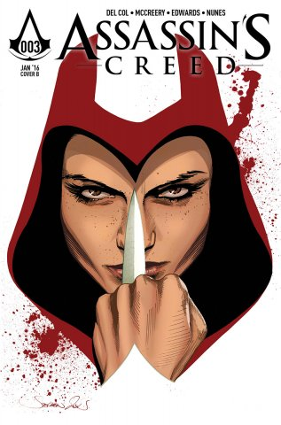 Assassin's Creed 003 (cover b) (January 2016)