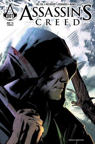 Assassin's Creed 001 (cover b) (November 2015)