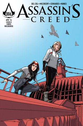 Assassin's Creed 006 (cover b) (April 2016)