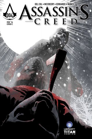 Assassin's Creed 004 (cover c) (February 2016)