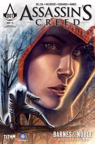 Assassin's Creed 001 (Barnes & Noble variant) (November 2015)