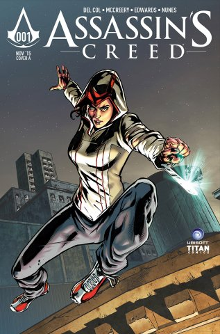 Assassin's Creed 001 (cover a) (November 2015)