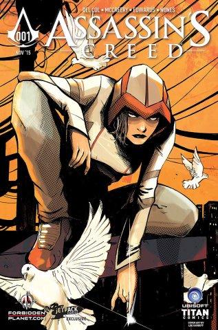 Assassin's Creed 001 (Forbidden Planet~Jetpack variant) (November 2015)