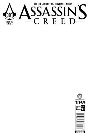 Assassin's Creed 001 (cover e) (November 2015)